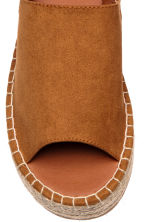 Platform sandals - Camel - Ladies | H&M CN 3