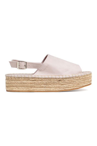Platform sandals - Powder - Ladies | H&M 1