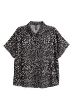 Crêpe blouse - Black/Spotted - Ladies | H&M 2