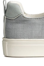 Herringbone-patterned trainers - Light grey/White - Kids | H&M 3