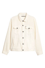 Denim jacket - Natural white - Men | H&M 2