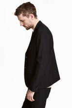 Wool-blend jacket - Black - Men | H&M CN 4