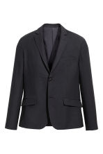 Wool-blend jacket - Black - Men | H&M CN 2