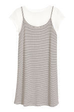 Dress and top - White/Black striped -  | H&M 2