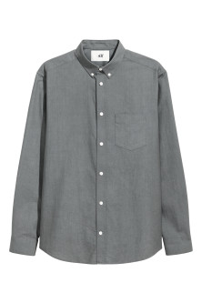 Pima cotton Oxford shirt