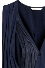 MAMA Nursing blouse - Dark blue - Ladies | H&M 3
