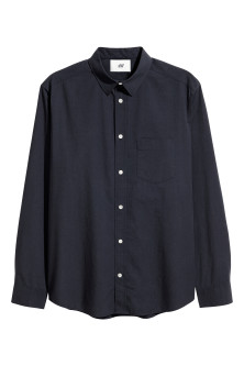 Pima cotton poplin shirt