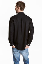 Silk shirt - Black - Men | H&M 4