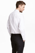 Pima cotton shirt - White - Men | H&M CN 4