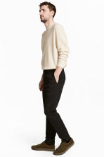 Cotton twill chinos - Black - Men | H&M CA 4