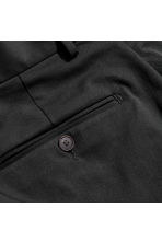 Cotton twill chinos - Black - Men | H&M CA 3