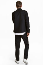 Wool-blend chinos - Black - Men | H&M CN 4