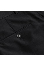Wool-blend chinos - Black - Men | H&M CN 3