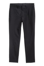 Wool-blend chinos - Black - Men | H&M CN 2