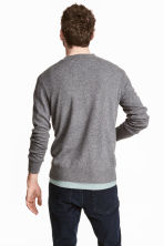 Cashmere jumper - Dark grey marl - Men | H&M 4
