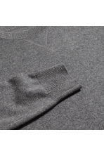 Cashmere jumper - Dark grey marl - Men | H&M 3