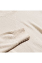 Cashmere jumper - Light beige - Men | H&M IE 2
