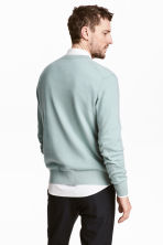 Cashmere jumper - Light petrol - Men | H&M CN 4