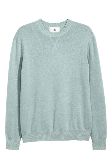 Cashmere jumper - Light petrol - Men | H&M
