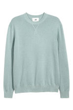 Cashmere jumper - Light petrol - Men | H&M CN 2