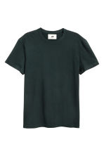 Pima cotton T-shirt - Black - Men | H&M 2