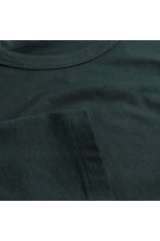 Pima cotton T-shirt - Black - Men | H&M 3