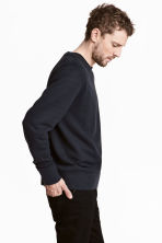 Pullover in misto seta - Blu scuro - UOMO | H&M IT 4