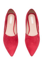 Ballet pumps - Red - Ladies | H&M CN 2
