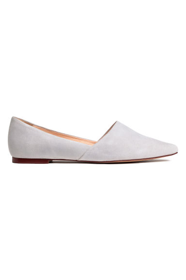 Ballet pumps - Light grey - Ladies | H&M CN 1