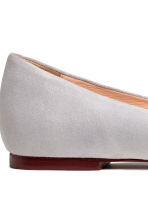 Ballet pumps - Light grey - Ladies | H&M CN 4