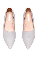 Ballet pumps - Light grey - Ladies | H&M CN 2