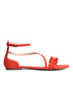 Sandals - Coral red - Ladies | H&M 1