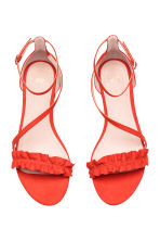 Sandals - Coral red - Ladies | H&M 2