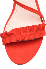 Sandals - Coral red - Ladies | H&M 3