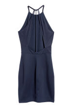 Bodycon dress - Dark blue - Ladies | H&M CN 3