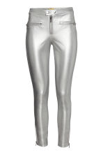 Biker trousers - Silver - Ladies | H&M 2