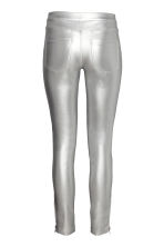 Biker trousers - Silver - Ladies | H&M 3