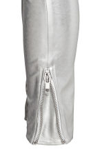 Biker trousers - Silver - Ladies | H&M 4