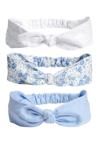 3-pack hairbands - White - Kids | H&M