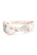 3-pack hairbands - White/Cherry - Kids | H&M 2
