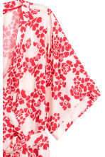Patterned kimono - Red/Floral - Ladies | H&M 2