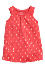 Jersey dress - Red - Kids | H&M CN 1