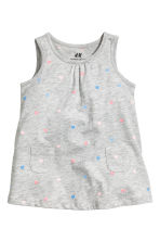 Jersey dress - Grey heart - Kids | H&M CN 1