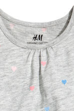 Jersey dress - Grey heart - Kids | H&M CN 2