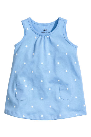 Jersey dress - Blue/Star -  | H&M