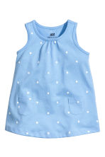 Jersey dress - Blue/Star - Kids | H&M CN 1