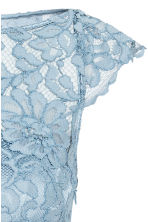 Maxi dress with lace bodice - Light blue - Ladies | H&M CN 3