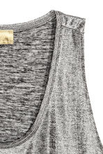 Shimmering vest top - Silver - Ladies | H&M 3