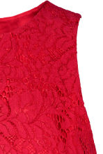 Lace dress - Red - Ladies | H&M 3