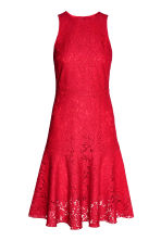 Lace dress - Red -  | H&M CA 2